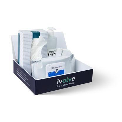 Personal Hygiene Packs - Sanitiser, Wipes, Tissues, KN95 Masks